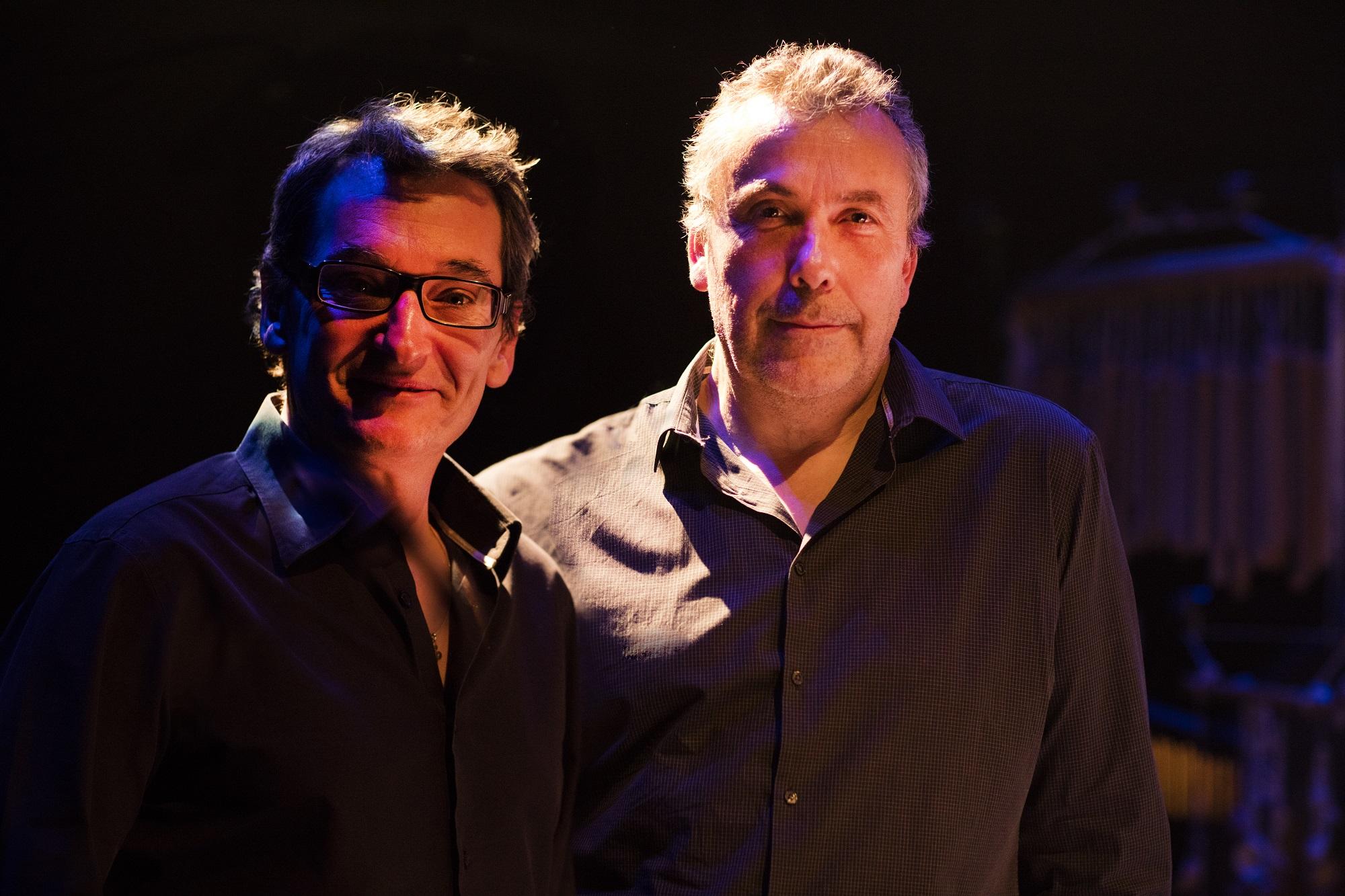 Didier Ithursarry, Jean-Marie Machado / photo by Cecil Matthieu