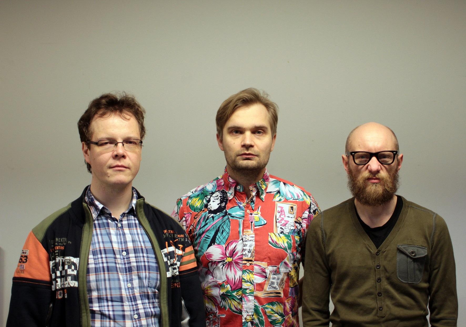 Veli Kujala, Mikko Innanen, Mika Kallio -kuva: M. Innanen